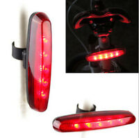 HOAU Cycling Night Super Bright Red 5 LED Rear Tail Light Bicycle 4 Modes Lamp
