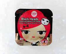Cathy Doll Black Heads Cleansing Black Clay Mask Super Gal Removing Blackhead 5g