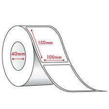 STARTRACK SHIP/DISPATCH LABELS-12 rolls x 350 labels(100 x 150mm on 40mm Core)