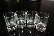 Jack Daniels Square Shot Glasses Old No. 7 Signature on Bottom Case Lot of 24