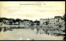 MAINE, MILO, SEBEC RIVER AND MILO HOTEL, C.-1944, (780