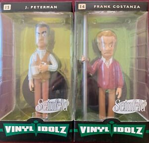 Funko Vinyl Idolz Seinfeld - J Peterman #15 & Frank Costanza #14 - New Mint