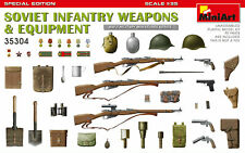 Miniart 1/35 Soviet Infantry Weapons & Equipment (Special Edition) # 35304