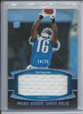 1/1 TITUS YOUNG 2011 TOPPS PRIME SILVER HOLOFOIL JUMBO JERSEY RC #D 16/25 JSY#16