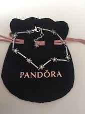 Pandora Celestial Stars Bracelet 18cm In Pandora Pouch