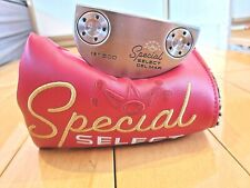 Scotty Cameron Special Select Del Mar w/ Button Back Grip 1st Of 500 Putter 34""