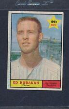 1961 Topps #129 Ed Hobaugh Senators VG *114