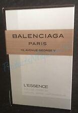 Balenciaga L 'Essence Eau de Parfum 0.04fl oz/1.2ml Gekrempelt Probe
