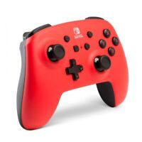 PowerA Enhanced Wireless Controller Switch - Red NEW FREE US SHIPPING