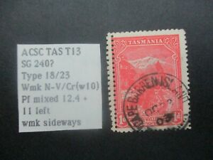 Australian Stamps: Tasmania - USED - Excellent Item, Must Have! (V29687)