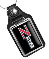 Compatible with 1970 - 1974 Chevrolet Camaro Z28 Silver & Red Design Key Ring