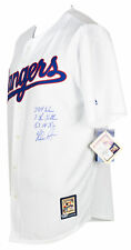 Nolan Ryan Signed Rangers Majestic Cooperstown Jersey Inscribed 3x 324 Wins BAS