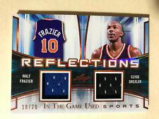 DREXLER / FRAZIER 2018 Leaf In The Game Used ITG Jersey Patch Relic Card 10/20