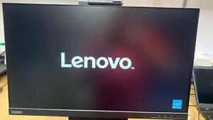 Lenovo ThinkCentre TIO24Gen3 23,8 Zoll Full HD IPS LED Monitor - Schwarz NEU OVP