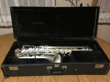 Silver Plated Tenor Saxophone