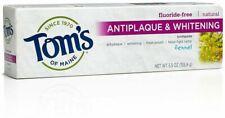 Antiplaque & Whitening Toothpaste, Tom's of Maine, 2 x 5.5 oz Fennel