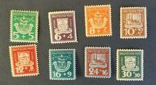Germany, 1946 MNH  lot of Lubbenau issues