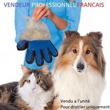 """GANT TOILETTAGE BROSSE acces/poils pour animaux chien/chat avec """"suivi-colis"""""""