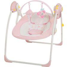 Babyschaukel vollautomatisch 230V Baby Schaukel Wippe Wiege Liege mit Spielbogen