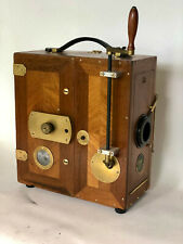 Filmkamera, ERTEL-WERKE, Filmette , 35 mm, Houten movie camera, uit ca.1918