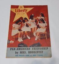 Liberty Magazine October 4, 1941 - Roosevelt - Hitler - Karloff