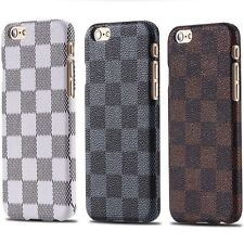 "Iphone 6 / 6s  Luxury Classic Grid Skin Slim Case for Back Cover Size 4.7"" USA"