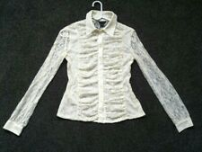 VICTORIA'S SECRET / Moda International Vintage Lace Shirt Size XS