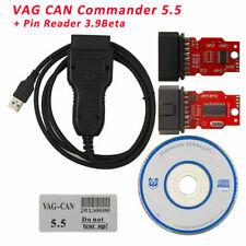 VAG CAN Commander 5.5+Pin Reader OBD2 Odometer Correction Fit Audi Seat Skoda VW