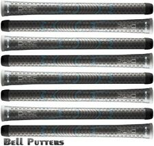 Eight (8) Winn Dri-Tac AVS Soft Undersize/Lady Gray/Grey Golf Grip-Ladies/Womens