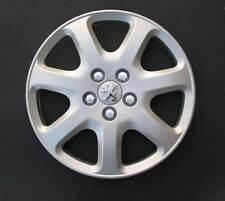 """4 Radkappen Radkappen Peugeot 407 16"""" Logo verchromt"""