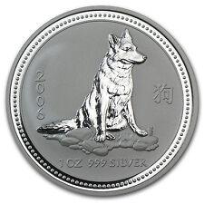 2006 Australia 1 oz Silver Year of the Dog BU - SKU #11151