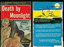 Michael Innes DEATH BY MOONLIGHT Avon 752 pb 1st Edition Crime Good Girl Art VG+