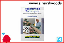 """Stock Clearance Spindle Turning DVD - Alan Holtham """"Woodworking - Woodturning"""""""