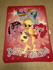 Northwest My Little Pony Best Friends Throw Blanket 58 In X 41 1/2 In