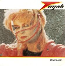 TOYAH Rebel Run Vinyl Record 7 Inch Safari SAFE 56 1983