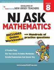 NJ ASK Practice Tests and Online Workbooks - 8th Grade Mathematics - Aligned wit