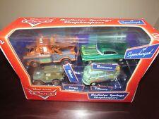 NEW Disney Pixar Diecast Cars Supercharged Radiator Springs Shopkeeper Set 4