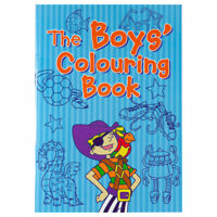 Boys Clouring Book - Children's activity book for kids aged 3+
