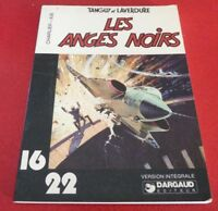 Soft Cover French Book Tanguy et Laverdure Les Anges Noirs Dargaud 16/22 No.35