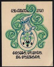30)Nr.064- EXLIBRIS- Antonio de Guezala, 1919