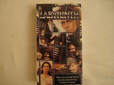 Labyrinth VHS 1986 David Bowie Jennifer Connelly George Lucas Jim Henson