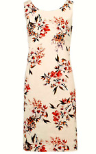 Pomodoro Size 16 Kaleidoscope Floral Print Shift DRESS £52 Occasion Party