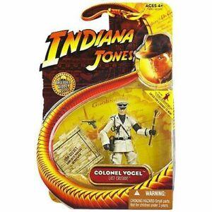 NEW 2008 Colonel Vogel 3 3/4 Indiana Jones Action Figure by Hasbro