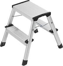 "Hailo Aluminium Folding Steps ""l90 Step-ke"" Ladder Household Stool 150kg"