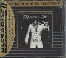 "Elvis Presley - Sealed, 24K CD,  MFSL ""That's the Way It Is"" May-1992,"
