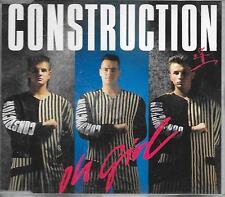 CONSTRUCTION - Oh girl CDM 4TR Swingbeat Europop 1991 Germany