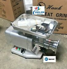 New 1100W Commercial Electric Meat Grinder Stainless Steel 1.5Hp Counter Top Nsf