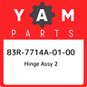 83R-7714A-01-00 Yamaha Hinge assy 2 83R7714A0100, New Genuine OEM Part