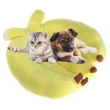 Pet Sleeping Bed Cute Banana Shape Winter Warm Cats Dogs Kennel House Soft Sofa
