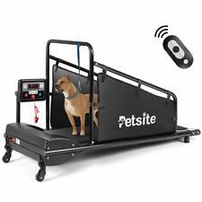 Dog Treadmill Exercise Machine Remote Equipment Train Weight Loss Fit Walk Run